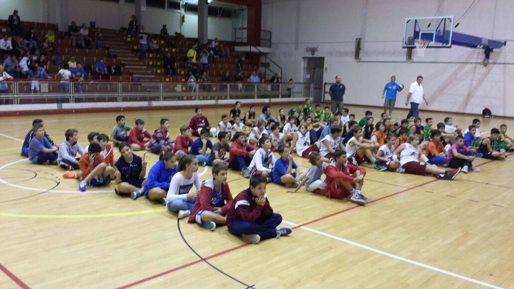 Premiazioni del Torneo Giovanile Comuni Uniti della Bassa Padovana  - Foto di Pool Aviatori Basket