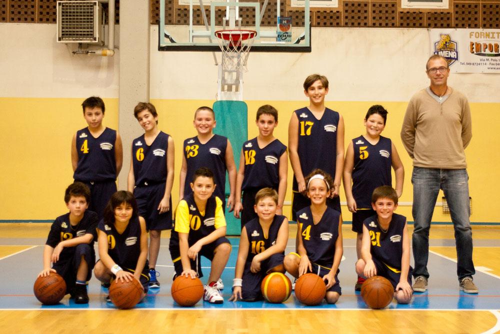La squadra degli Aquilotti 2014-15