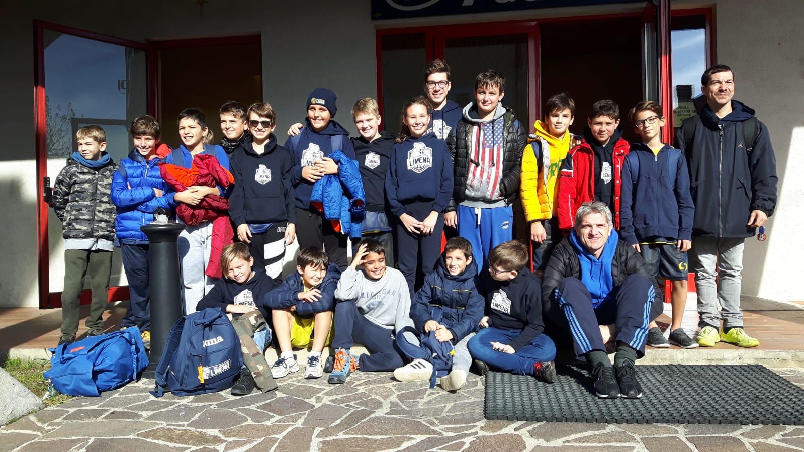 Gruppo Aquilotti Esordienti Torneo di Asiago 2018